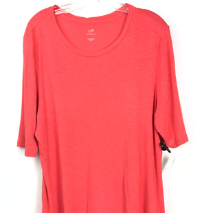 Primary Photo - BRAND: J JILL STYLE: TUNIC SHORT SLEEVE COLOR: CORAL SIZE: XL SKU: 164-164180-2330