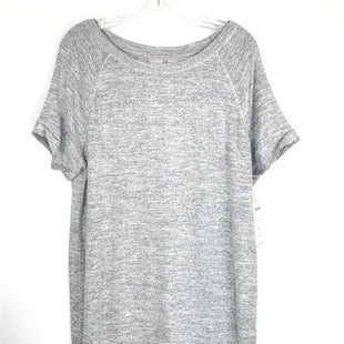 Primary Photo - BRAND: CHICOS STYLE: DRESS SHORT SHORT SLEEVE COLOR: GREY SIZE: L OTHER INFO: NEW! SKU: 164-164183-1641