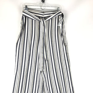 Primary Photo - BRAND: ANN TAYLOR LOFT O STYLE: PANTS COLOR: STRIPED SIZE: 8 OTHER INFO: SIZE: M, BLUE AND WHITE SKU: 164-164175-5220
