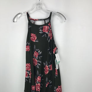 Primary Photo - BRAND:  CMB STYLE: DRESS SHORT SLEEVELESS COLOR: GREEN SIZE: L OTHER INFO: NINE BRITTON - NEW! PETITE STITCH FIX, FLORAL SKU: 164-164196-223