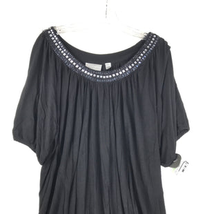 Primary Photo - BRAND: AVENUE STYLE: TOP SHORT SLEEVE COLOR: BLACK SIZE: XL SKU: 164-164189-648