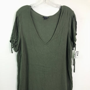 Primary Photo - BRAND: TORRID STYLE: TOP SHORT SLEEVE COLOR: OLIVE SIZE: L OTHER INFO: SZ 1 SKU: 164-164196-361