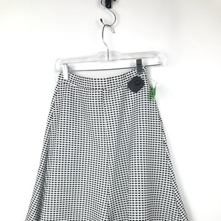 Primary Photo - BRAND: MAISON JULES STYLE: SKIRT COLOR: BLACK WHITE SIZE: 6 OTHER INFO: SIZE SMALL SKU: 164-164185-752