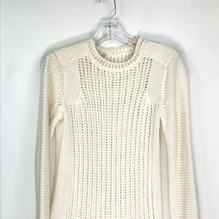 Primary Photo - BRAND: REBECCA TAYLOR STYLE: SWEATER LIGHTWEIGHT COLOR: CREAM SIZE: S SKU: 164-164185-791