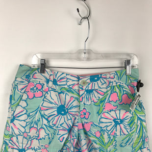 Primary Photo - BRAND: LILLY PULITZER STYLE: SHORTS COLOR: PINKGREEN SIZE: 4 OTHER INFO: CALLAHAN SHORTS SKU: 164-164175-5042