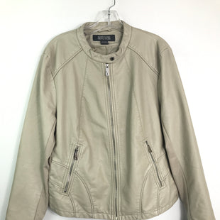Primary Photo - BRAND: KENNETH COLE REACTION STYLE: JACKET OUTDOOR COLOR: STONE SIZE: 18 SKU: 164-164196-358