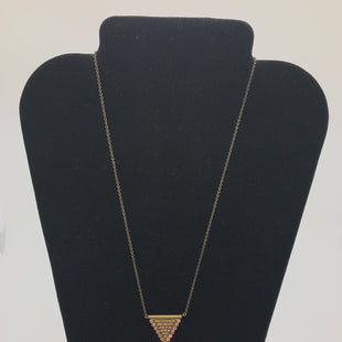 Primary Photo - BRAND:    CLOTHES MENTOR STYLE: NECKLACE COLOR: BRONZE OTHER INFO: SORRELLI - TRIANGLE SKU: 164-164175-4958