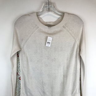 Primary Photo - BRAND: ANN TAYLOR LOFT STYLE: TOP LONG SLEEVE COLOR: WHITE SIZE: XS OTHER INFO: NEW W/ TAG! SKU: 164-164175-3304