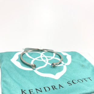 Primary Photo - BRAND: KENDRA SCOTT JEWLERY STYLE: BRACELET COLOR: SILVER OTHER INFO: AS IS DICHROIC GLASS CUFF SKU: 164-164196-433