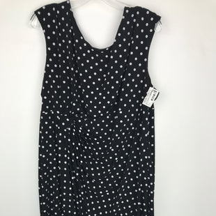 Primary Photo - BRAND: CONNECTED APPAREL STYLE: DRESS SHORT SLEEVELESS COLOR: POLKADOT SIZE: 2X OTHER INFO: 20W SKU: 164-164136-20325