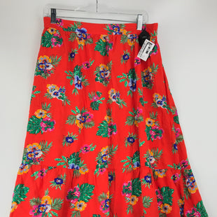 Primary Photo - BRAND: OLD NAVY STYLE: SKIRT COLOR: RED SIZE: 16 OTHER INFO: FLORAL SKU: 164-164183-1262