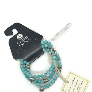 Primary Photo - BRAND:    CLOTHES MENTOR STYLE: BRACELET COLOR: TURQUOISE SIZE: 03 PIECE SET OTHER INFO: HAMSA+EYE+TURQUISE SKU: 164-164183-1458