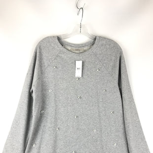 Primary Photo - BRAND: ANN TAYLOR LOFT STYLE: TOP LONG SLEEVE COLOR: GREY SIZE: M SKU: 164-164175-5206