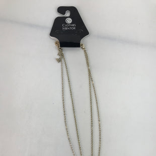 Primary Photo - BRAND:    CLOTHES MENTOR STYLE: NECKLACE COLOR: WHITE OTHER INFO: 2-CHAINS, GOLD SKU: 164-164140-14157