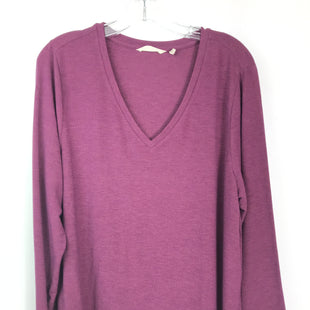Primary Photo - BRAND: SOFT SURROUNDINGS STYLE: TOP LONG SLEEVE BASIC COLOR: BURGUNDY SIZE: XL SKU: 164-164180-2328