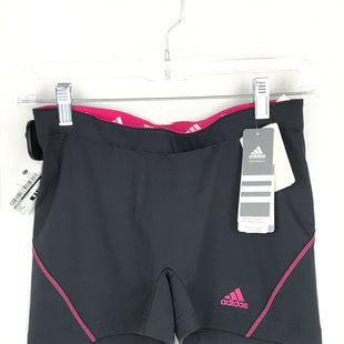 Primary Photo - BRAND: ADIDAS STYLE: ATHLETIC SHORTS COLOR: GREY SIZE: M OTHER INFO: NEW! SKU: 164-164140-16545