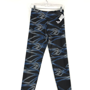 Primary Photo - BRAND: REEBOK STYLE: ATHLETIC PANTS COLOR: BLACK SIZE: S OTHER INFO: NEW! BLUE SKU: 164-164189-443