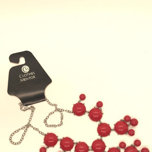 Primary Photo - BRAND:    CLOTHES MENTOR STYLE: NECKLACE COLOR: RED SKU: 164-164189-639
