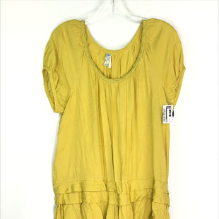 Primary Photo - BRAND: MAEVE STYLE: DRESS SHORT SHORT SLEEVE COLOR: MUSTARD SIZE: L SKU: 164-164196-517