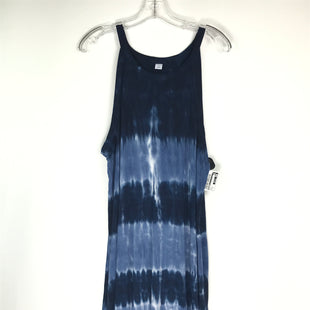 Primary Photo - BRAND: OLD NAVY STYLE: DRESS SHORT SLEEVELESS COLOR: NAVY SIZE: XL OTHER INFO: TIE DYE SKU: 164-164196-549