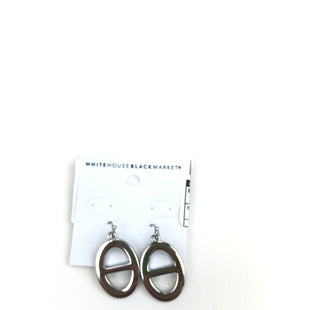 Primary Photo - BRAND: WHITE HOUSE BLACK MARKET O STYLE: EARRINGS COLOR: SILVER OTHER INFO: CIRCLE DANGLE SKU: 164-164140-10540