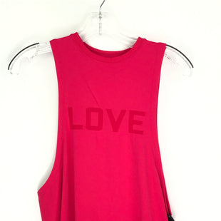 Primary Photo - BRAND: PINK STYLE: ATHLETIC TANK TOP COLOR: PINK SIZE: S SKU: 164-164140-17070