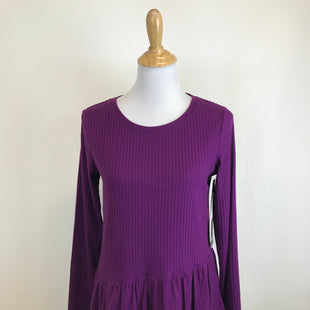 Primary Photo - BRAND: SIMPLY VERA STYLE: TOP LONG SLEEVE COLOR: PURPLE SIZE: S OTHER INFO: NEW! SKU: 164-164136-20605