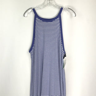 Primary Photo - BRAND: OLD NAVY STYLE: DRESS SHORT SLEEVELESS COLOR: PERIWINKLE SIZE: XL OTHER INFO: STRIPED SKU: 164-164196-558