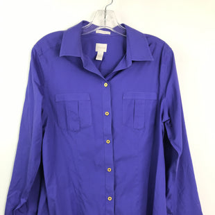 Primary Photo - BRAND: CHICOS STYLE: TOP LS COLOR: PURPLE SIZE: M SKU: 164-164185-833