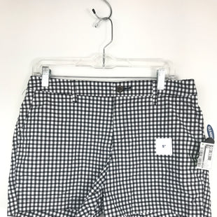 Primary Photo - BRAND: OLD NAVY STYLE: SHORTS COLOR: BLACK WHITE SIZE: 8 OTHER INFO: EVERYDAY SHORT, NEW WITH TAG! SKU: 164-164175-5228