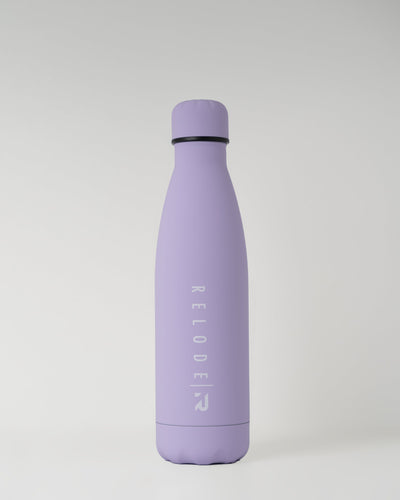 Metal Water Bottle 500ml - Lilac - RELODE.™