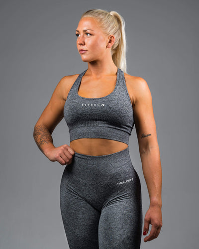 Sports Bra - Grey - RELODE.™