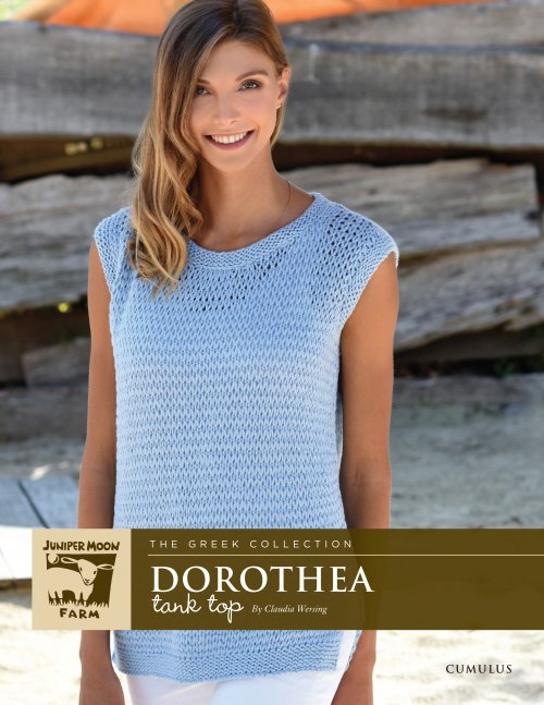 Juniper Moon Farm Cumulus Dorothea Tank Top (Free with Yarn Purchase)