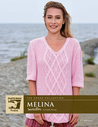Juniper Moon Farm Cumulus Melina Sweater (Free with Yarn Purchase)