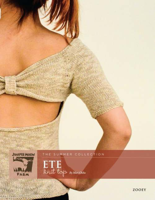 Juniper Moon Farm Zooey Ete Knit Top (Free with Yarn Purchase)