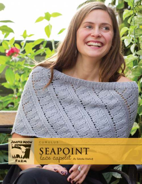 Juniper Moon Farm Cumulus Seapoint Lace Capelet (Free with Yarn Purchase)