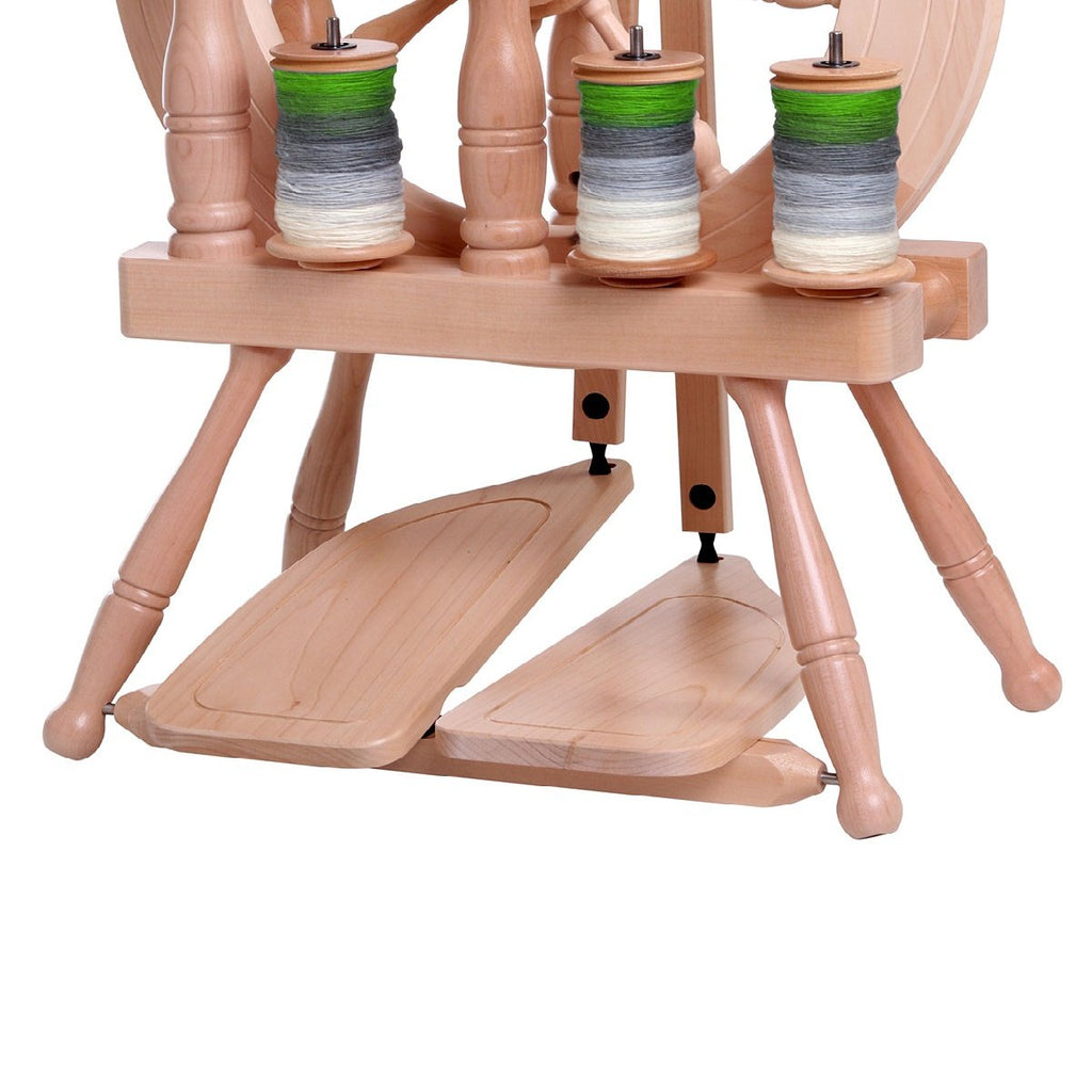 Ashford Double Treadle Kit for Travellers Natural