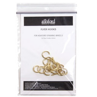 Ashford Flyer Hooks - Packaged 12pc