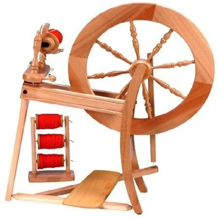 Ashford Traditional Spinning Wheel Single Drive Lacquered