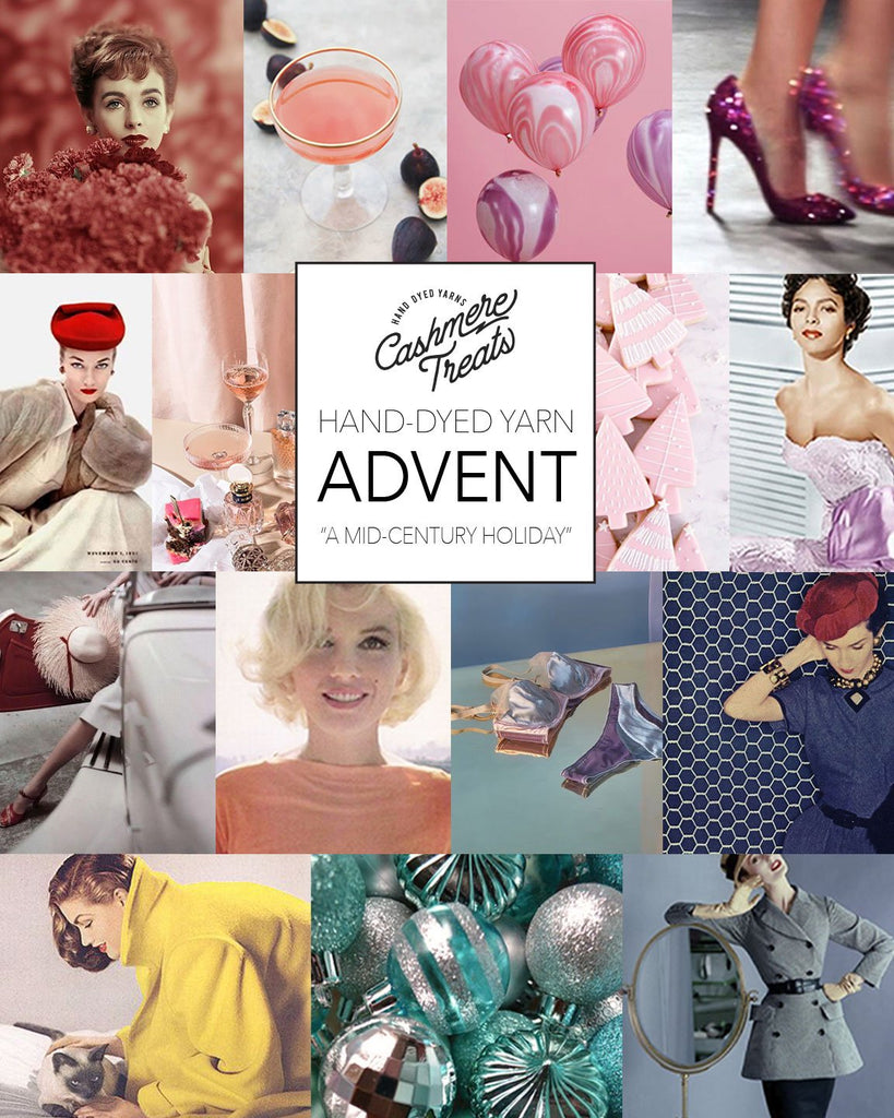 Cashmere Treats - Holiday Collection Advent in PURE CASHMERE DK