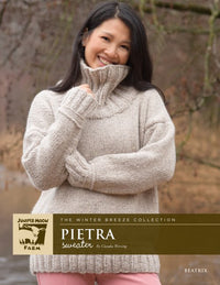 Juniper Moon Farm Beatrix Pietra Sweater (Free with Yarn Purchase)