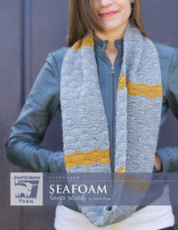 Juniper Moon Farm Stargazer Seafoam Loop Scarf (Free with Yarn Purchase)