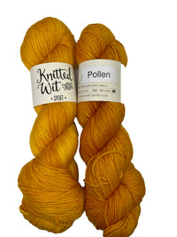 Knitted Wit Sport Semi-Solids Wool Nylon Knitting Yarn