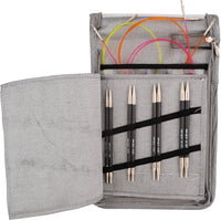 Knitter's Pride Karbonz Carbon Fiber Deluxe Interchangeable Needle Set