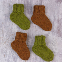 The Fibre Co. Cumbria One Sock Baby Pattern