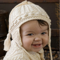 Aran Baby Hat Kit by Appalachian Baby Design