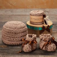 Appalachian Baby Design Crochet Cuff Hat and Bootees Kit