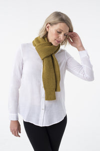 Shibui Knits Madison Ribbed Sleeve Scarf (Birch)