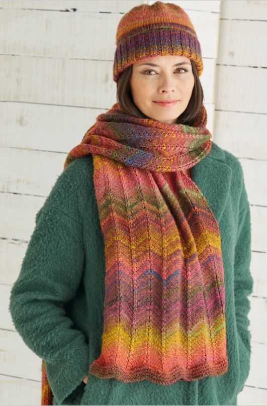 Sirdar Jewelspun Hat & Scarf Kit