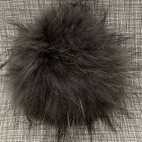 Big Bad Wool Raccoon Pom Pom XL 15 cm